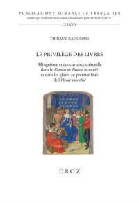 Le privilège des livres