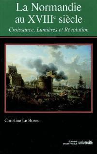 La Normandie au XVIIIe siècle