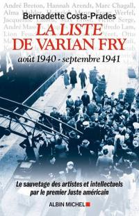 La liste de Varian Fry