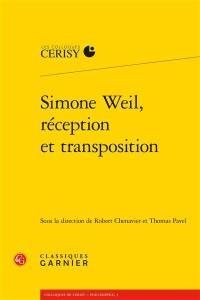 Simone Weil, réception et transposition