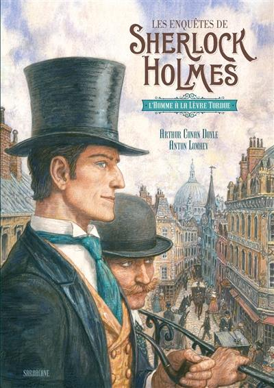 Les enquêtes de Sherlock Holmes, L'homme à la lèvre tordue