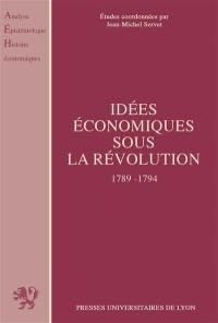 Idées économiques sous la Révolution