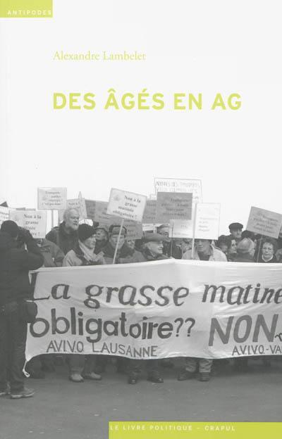 Des âgés en AG