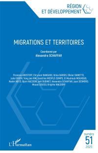 Région et développement. n° 51, Migrations et territoires