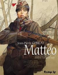 Mattéo, Cinquième époque (septembre 1936-janvier 1939)