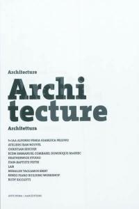 Architecture et matière = Architecture and material = Architettura e materia