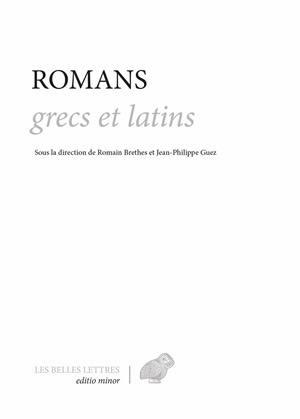 Romans grecs et latins