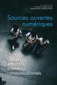 Sources ouvertes numériques