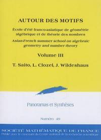Panoramas et synthèses. n° 49, Autour des motifs