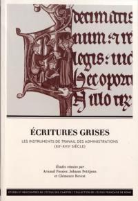 Ecritures grises