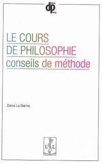 Le cours de philosophie