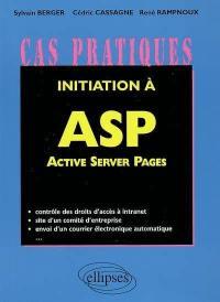 Initiation à Active Server Pages