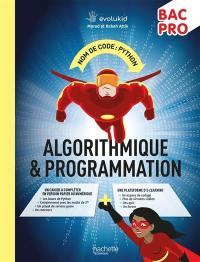 Nom de code, Python : algorithmique & programmation : bac pro