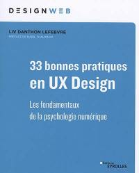 33 bonnes pratiques en UX design