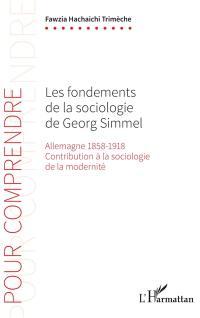 Les fondements de la sociologie de Georg Simmel