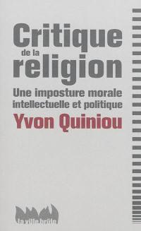 Critique de la religion