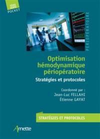 Optimisation hémodynamique péri-opératoire