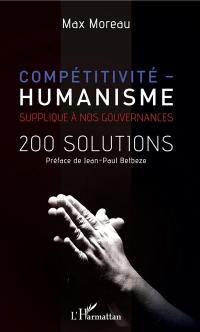 Compétitivité-humanisme