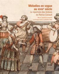 Mélodies en vogue au XVIIIe siècle