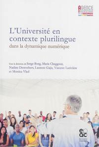 L'université en contexte plurilingue dans la dynamique numérique