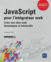 JavaScript pour l'intégrateur web