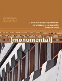 Monumental. n° 1 (2020), La fenêtre dans l'architecture