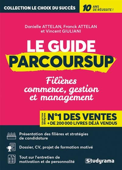 Le guide Parcoursup