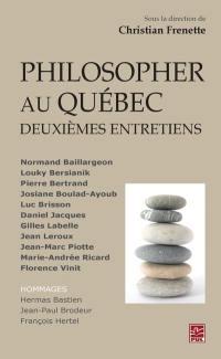 Philosopher au Québec