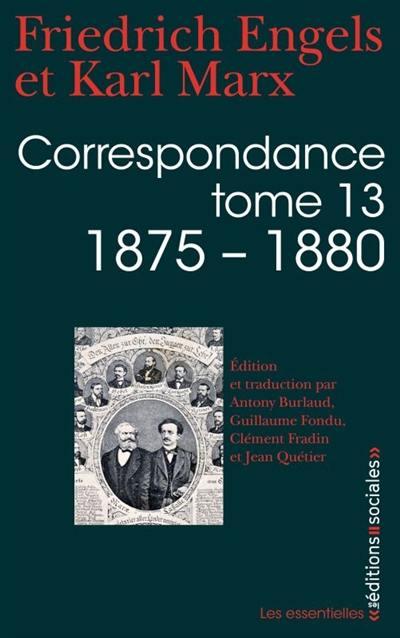 Correspondance. Volume 13, 1875-1880
