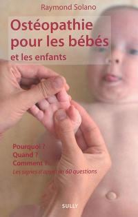 Ostéopathie pour les bébés et les enfants