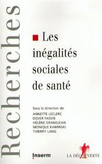 Inégalités sociales et santé