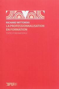 La professionnalisation en formation