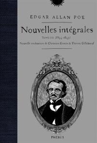 Nouvelles intégrales. Volume 3, 1844-1849