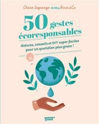 50 gestes écoresponsables