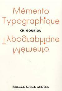 Mémento typographique