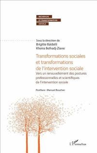 Transformations sociales et transformations de l'intervention sociale