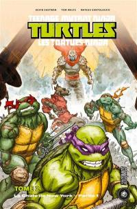 Teenage mutant ninja Turtles. Volume 2, La chute de New York