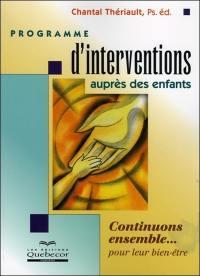 Programme d'interventions auprès des enfants