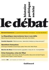 Débat (Le). n° 206,