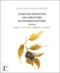 Livre des subtilités des créatures de diverses natures