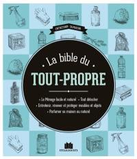 La bible du tout-propre