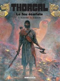 Thorgal. Volume 35, Le feu écarlate