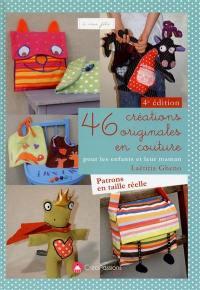 46 créations originales en couture pour les enfants et leur maman