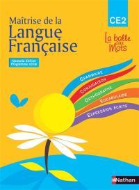 Maîtrise de la langue française, CE2, cycle 3