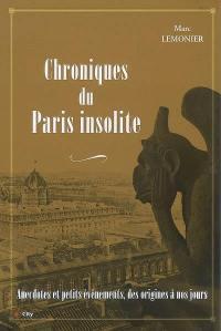 Chroniques du Paris insolite