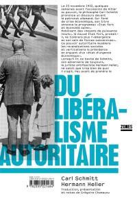 Du libéralisme autoritaire