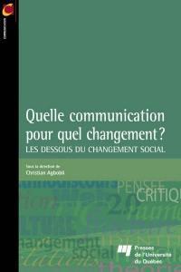 Quelle communication pour quel changement?