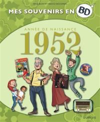 Mes souvenirs en BD. Vol. 13. Année de naissance : 1952