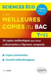 Les meilleures copies du bac sciences éco terminale ES