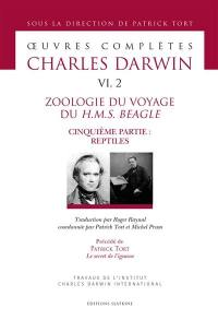 Oeuvres complètes, Volume 6-2, Zoologie du voyage du H.M.S. Beagle. Volume 5